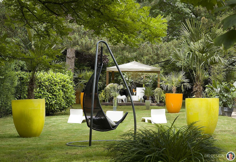 Best Idee Deco Grand Jardin Contemporary - Odieardhia.info ...