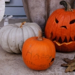 Sélection de légumes pour Halloween