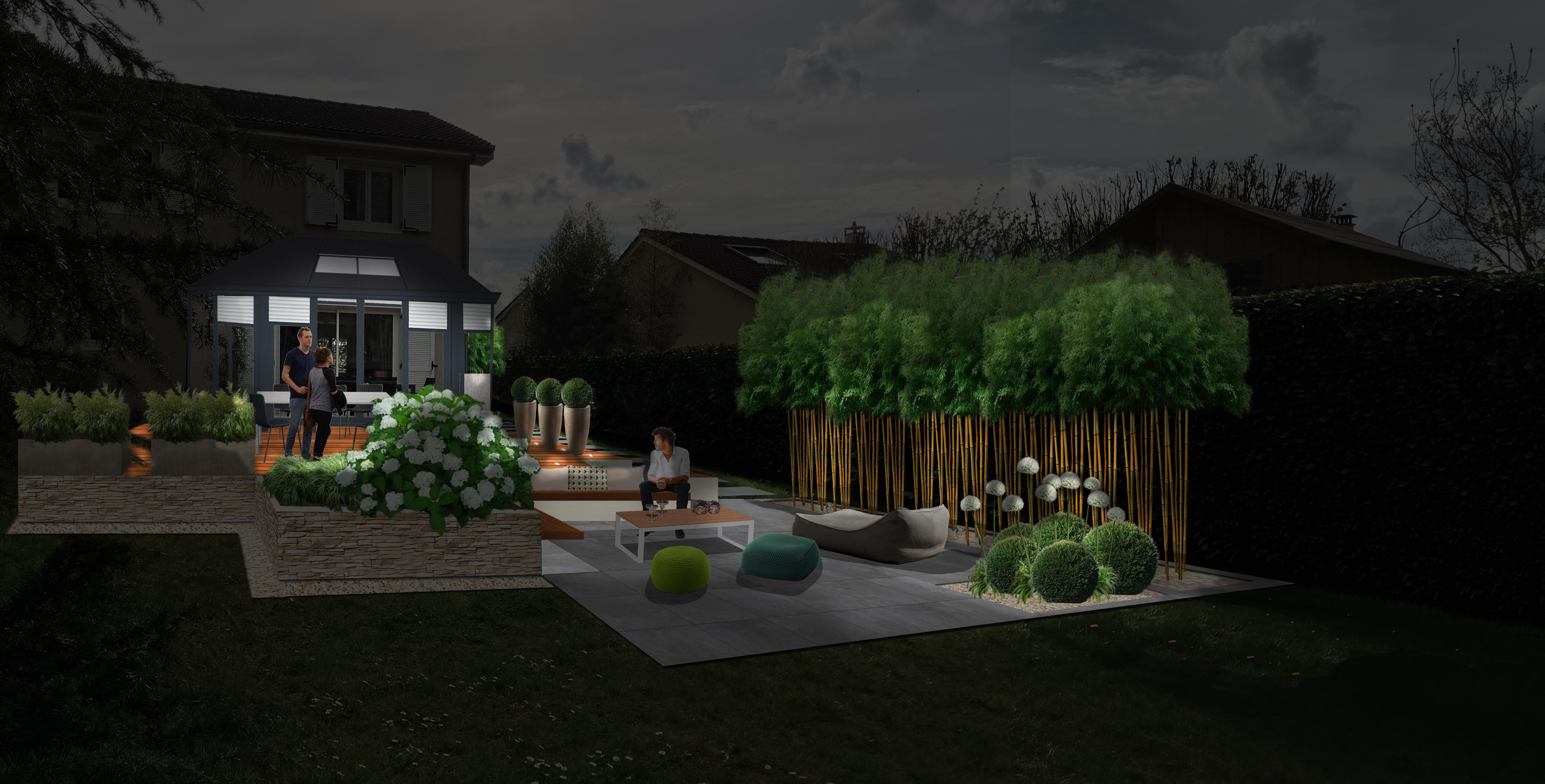 Plantes Pour Jardin Contemporain jardin contemporain zen et ÉpurÉ, la claye-souilly (77